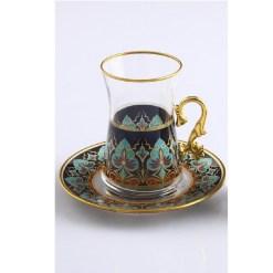agah tea set with holder