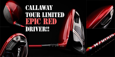 CALLAWAY DRIVERS TOUR LIMITED EPIC RED DRIVER!!