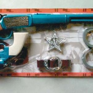 Western Clicker Rifle & Revolver Set.    7-669