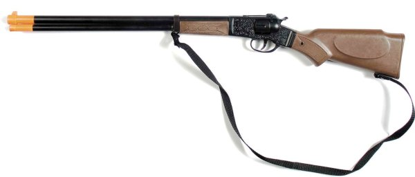 Die Cast Western Rifle - 8 Shot