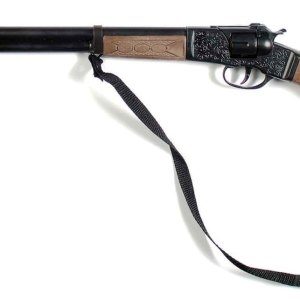 Die Cast Western Rifle - 8 Shot