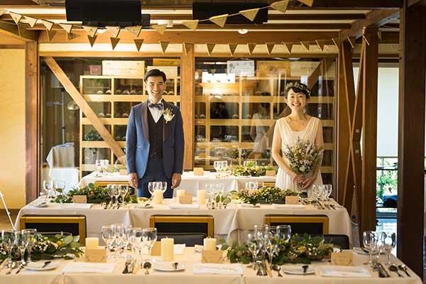 写真映えする結婚式会場