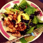 Spicy Grilled Chicken & Avocado Salad