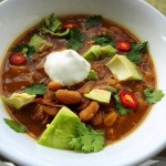 Hot Mama's White Bean Chicken Chili