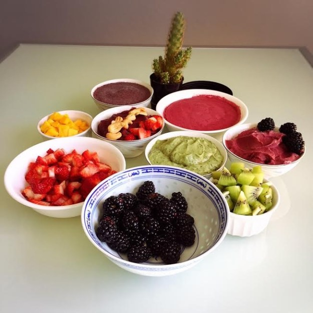 smoothiebowlswithtoppings