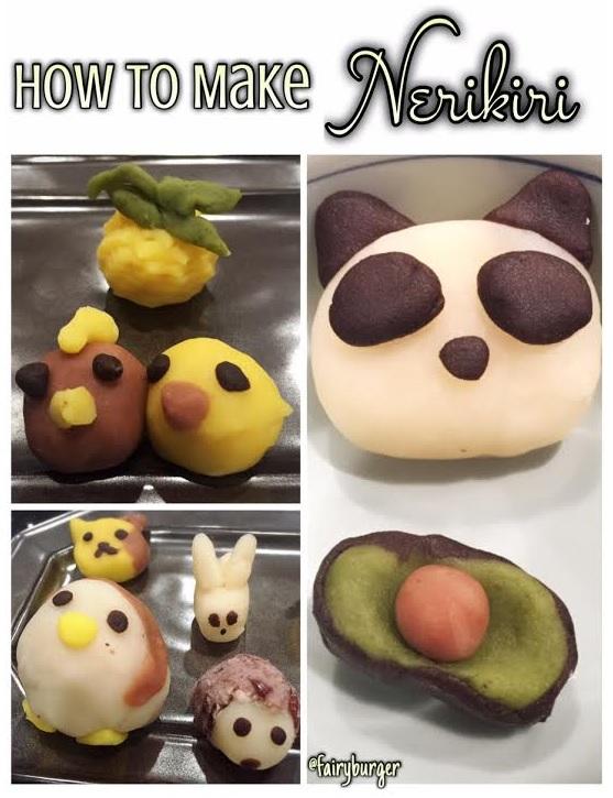 How To Make Nerikiri | @fairyburger