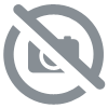 tissu fausse fourrure mouton coton naturel x20cm