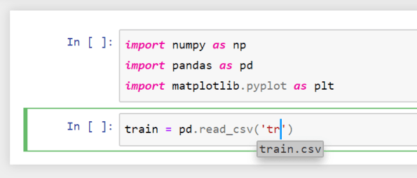 Image 007 - Jupyter Notebook 啟用自動補全、自動完成函數名稱,不用再按tab了!