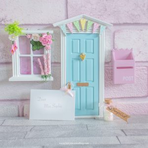 blue fairy door for girls