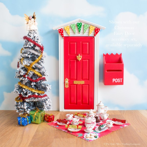 Fairy Door Christmas tea party