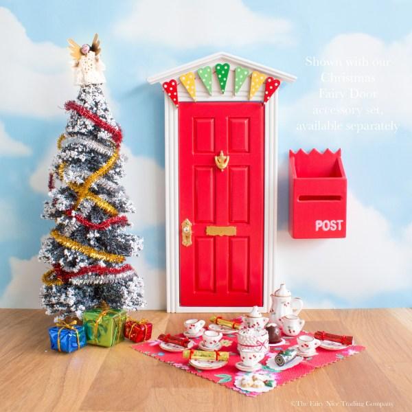Fairy Door Christmas tea party
