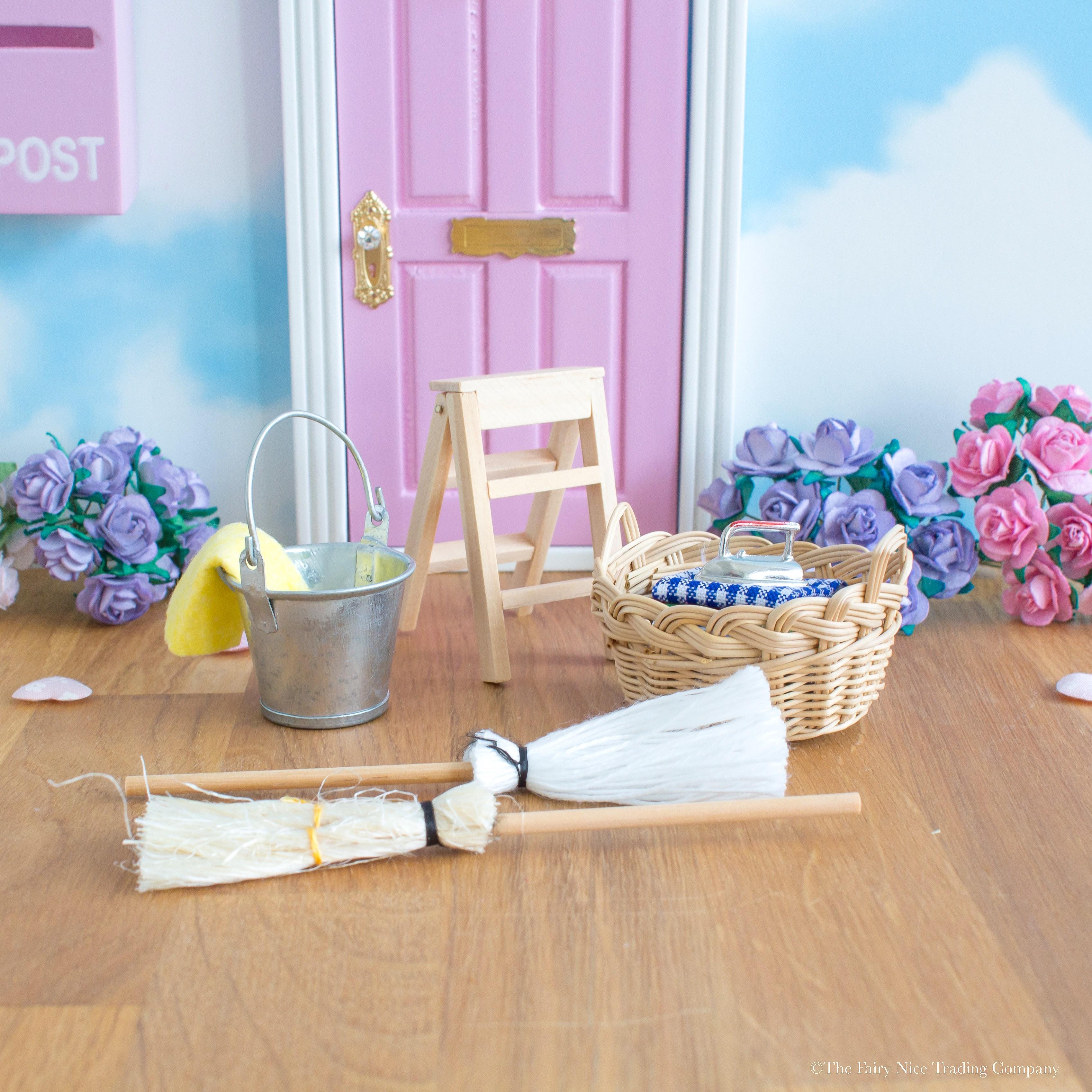 Cleaning Fairy Fairy Door accessory set