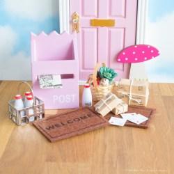 Fairy door accessory set, UK
