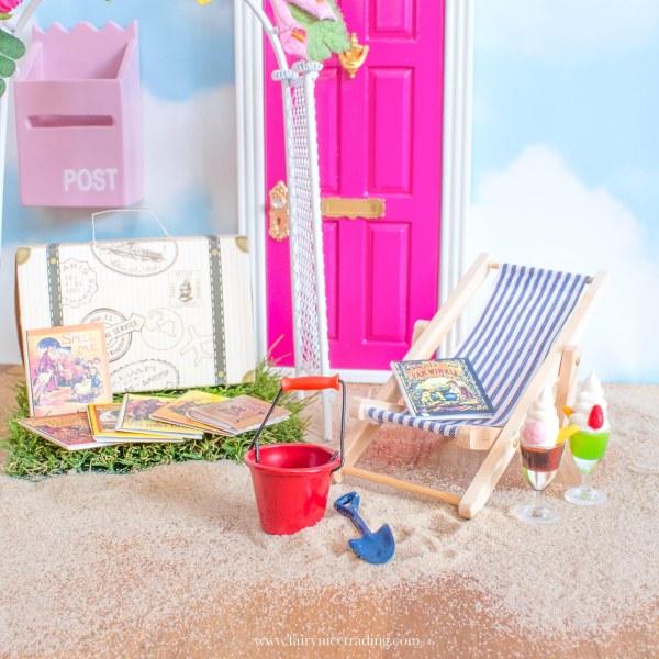 summer holiday fairy door accessory set uk