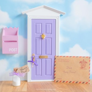 purple fairy door uk