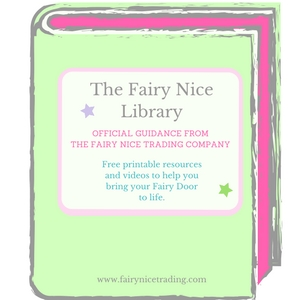 free printable fairy resources for Fairy Doors