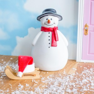 snowman for Fairy Doors UK
