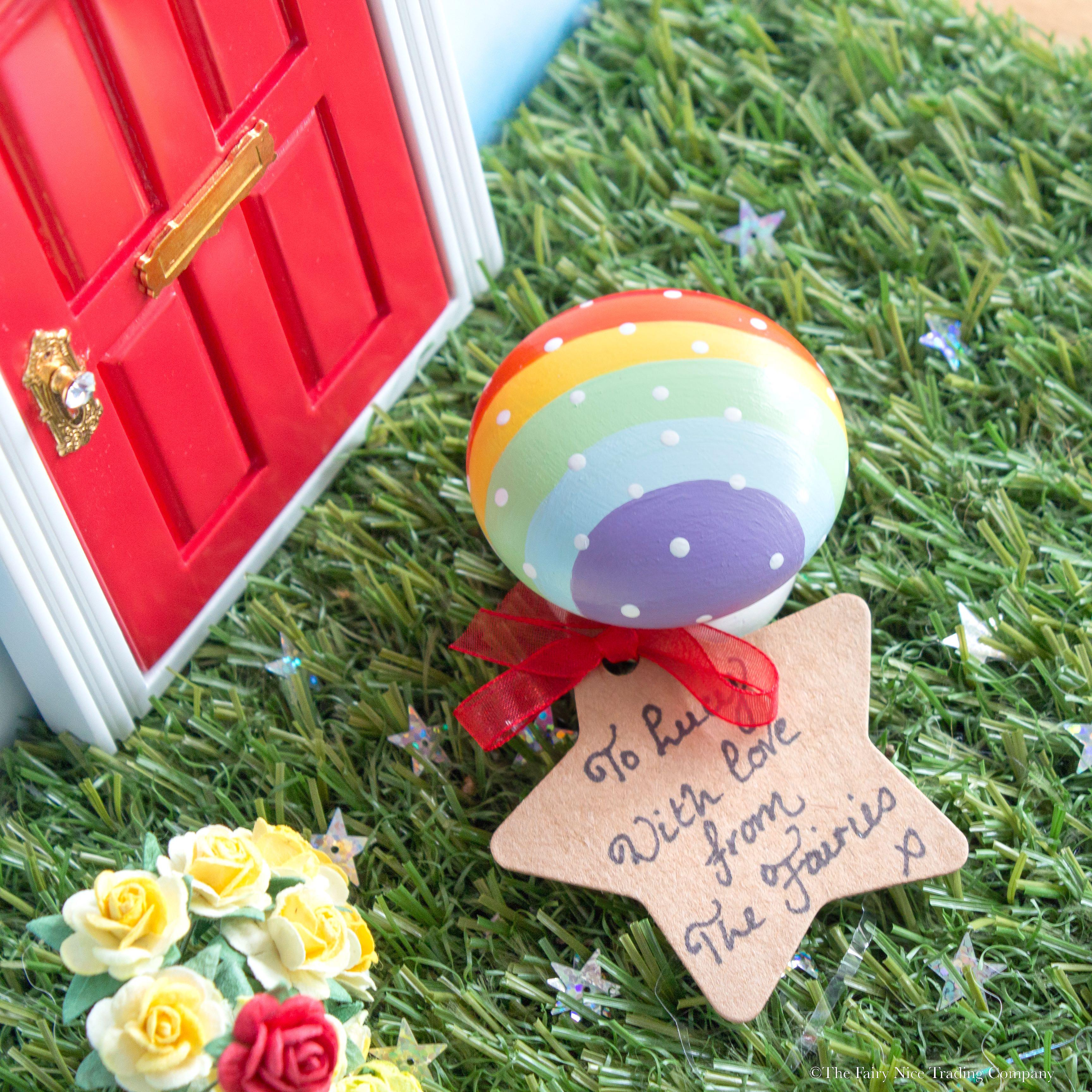 Personalised Magic Toadstool for Fairy Doors UK