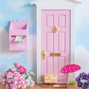 Fairy Doors with toadstools
