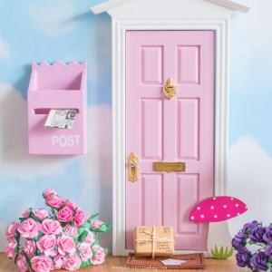 Fairy Doors with toadstools