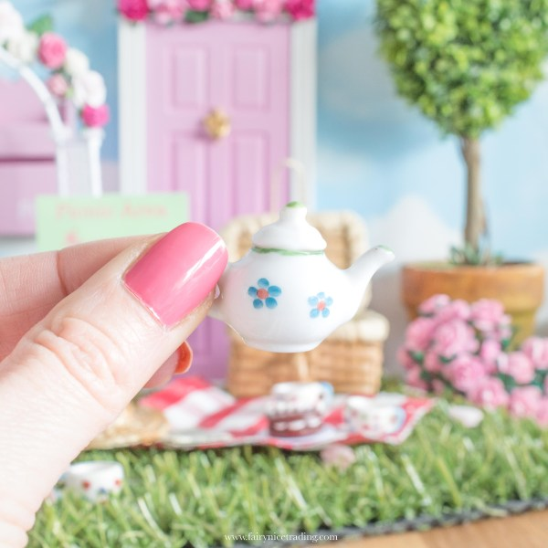 miniature teapot for fairy doors uk