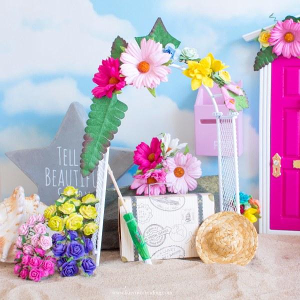 Fairy Suitcase fairy door accessory UK