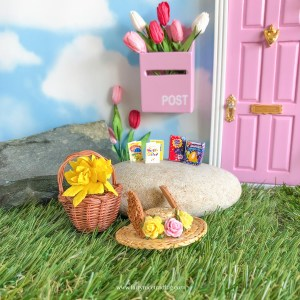 Easter Fairy Door Accessory Set
