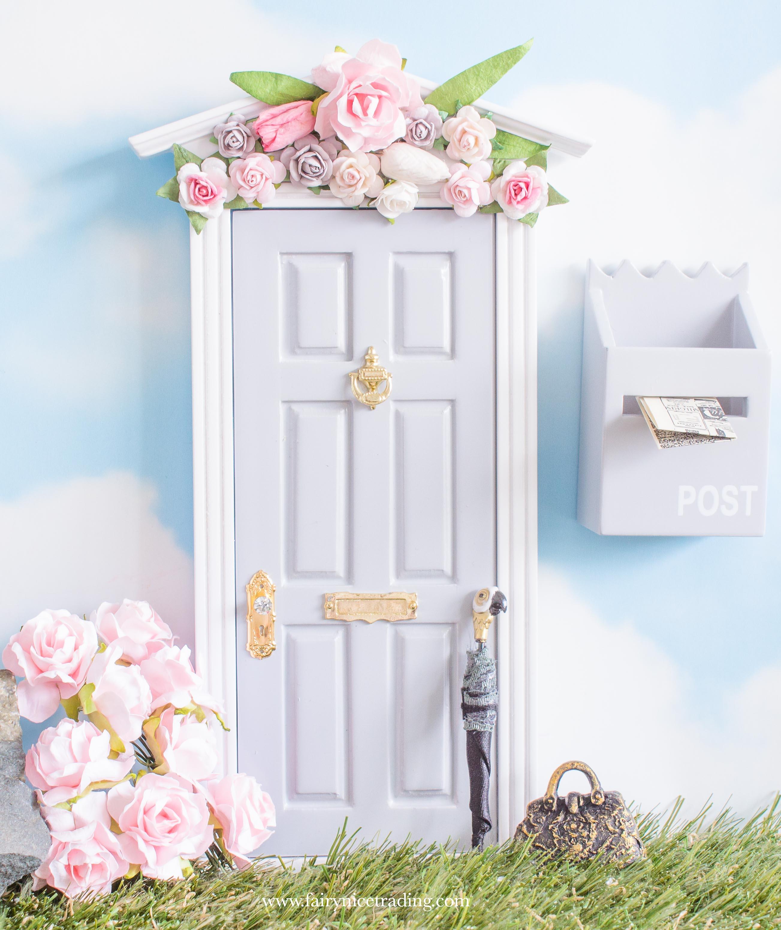 spring grey fairy door uk