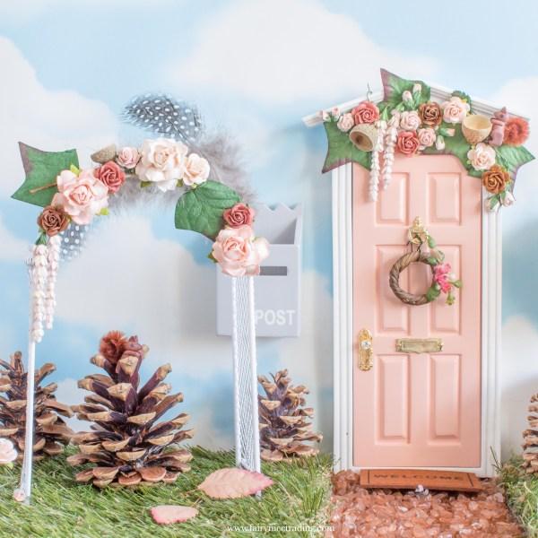 Woodland Fairy Garden Flower Arch