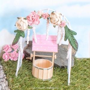fairy garden flower arch