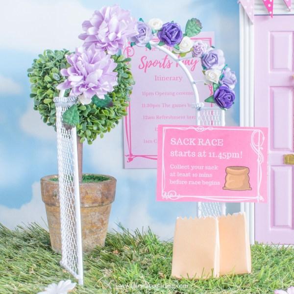printable fairy door letters
