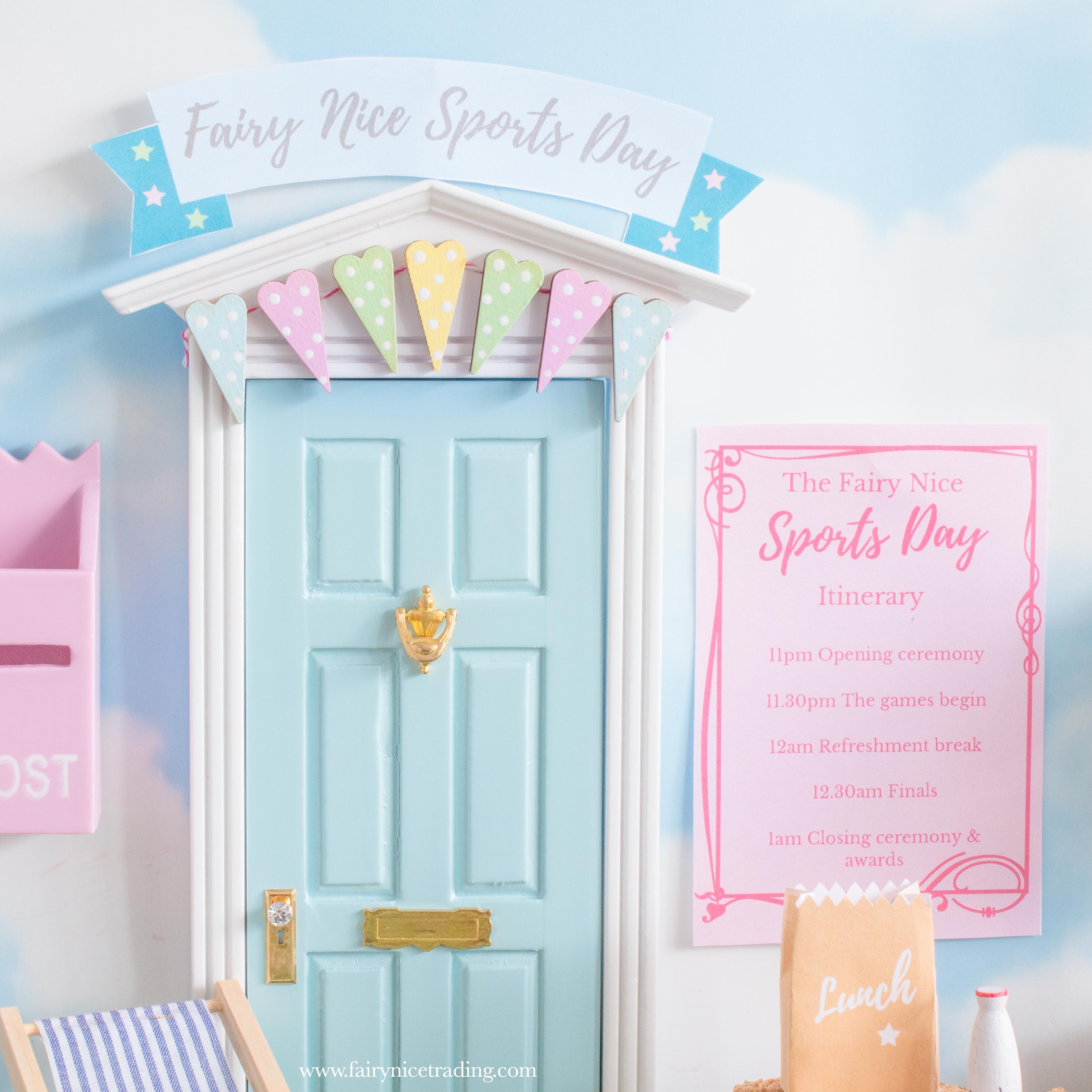 fairy door sports day