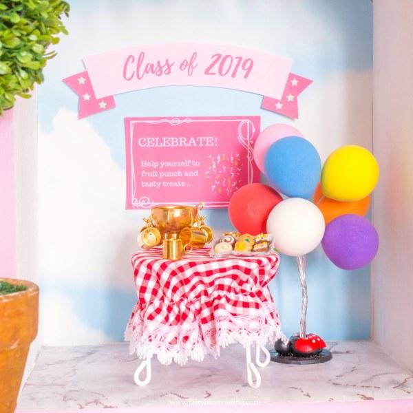 Preschool graduation celebration