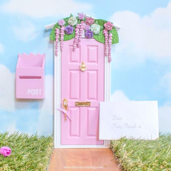 Wisteria Wishes Fairy Door in pink