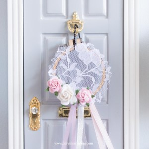 miniature dream catcher for fairy doors