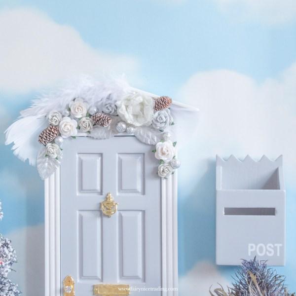 winter grey fairy door uk
