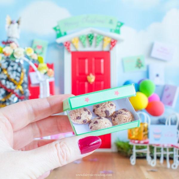 miniature cookie box