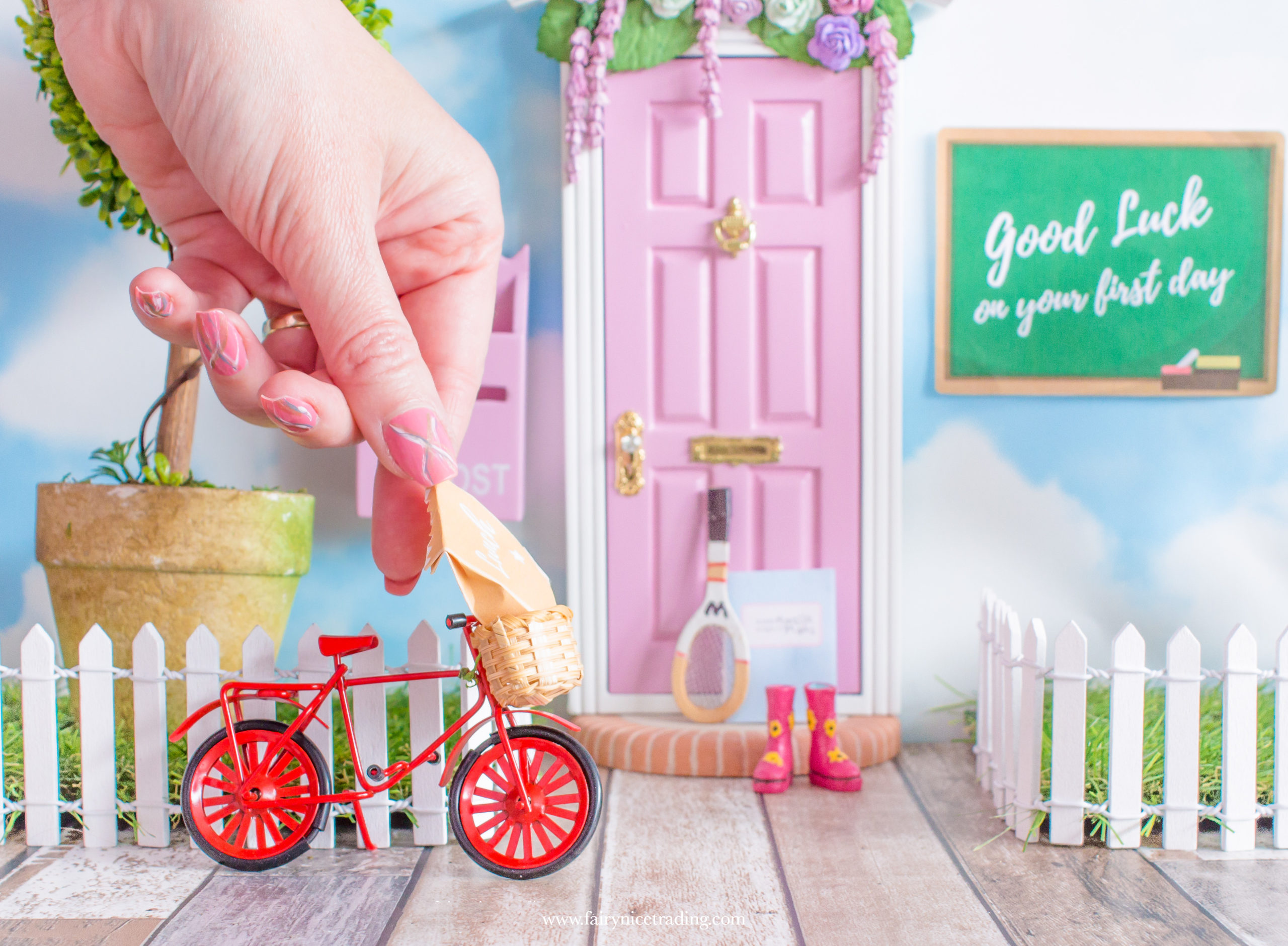 fairy door ideas for first day at school