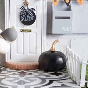 large black pumpkin