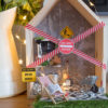 how to introduce a fairy door for Christmas
