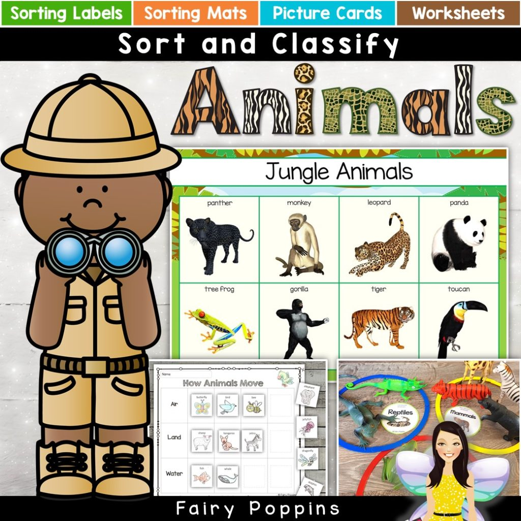 Animal Sort And Classify