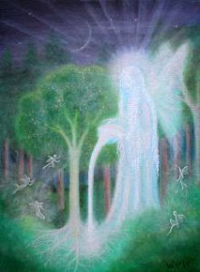 Keeper of the Trees copyright Bernadette Wulf