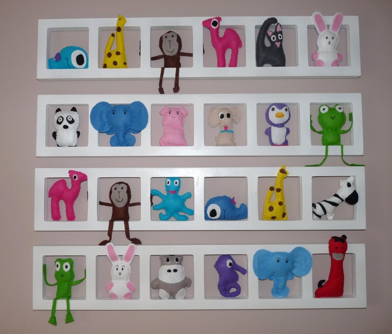 decoration chambre enfant et bebe unique et coloree nos amis