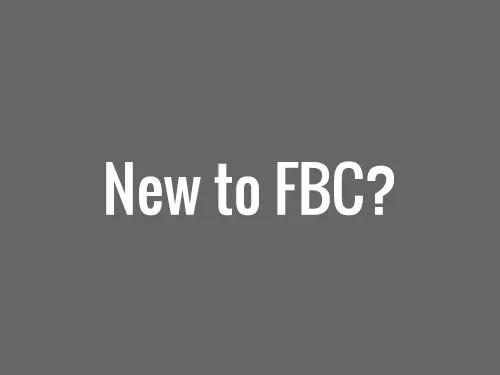 New to FBC