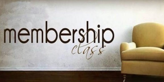 Discovering Church Membership Class
