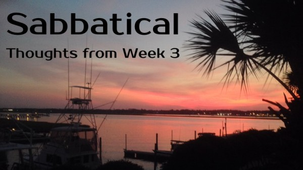 Sabbatical-Week3