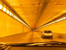 inside Pitt Tunnel, Pittsburgh, PA