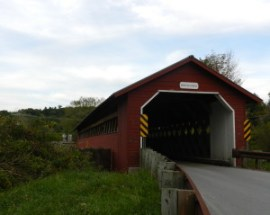paper mill bridge, VT