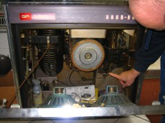 inner workings of juke box