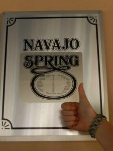 navajo spring
